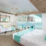 Endemic Galapagos Catamaran Golden Suite with Extra Bed